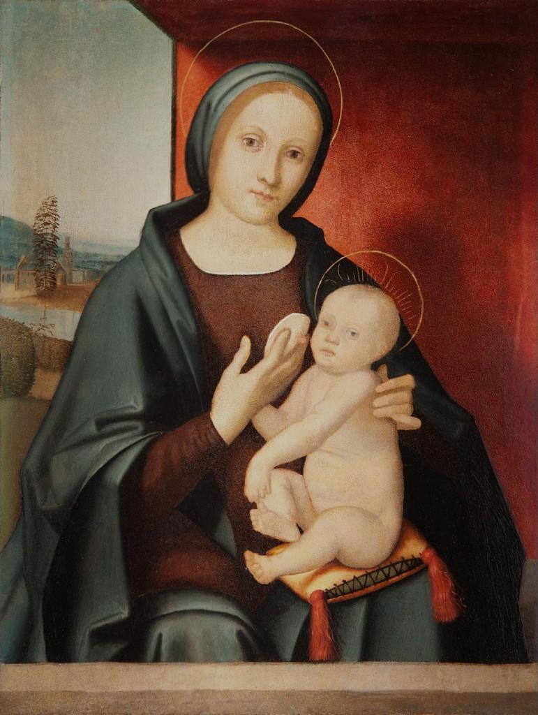 Domenico-PANETTI-Madonna-che-allatta-il-Bambino-breastfeeding-Breast-Feeding-bodymindwellness.com