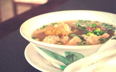 Chinese Herbal Chicken Bone Broth for Recovery from Bronchitis