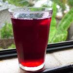 Ayurvedic Hibiscus Summer Drink