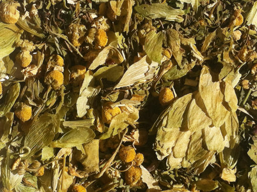 Beautiful Temple Herbal Tea Blend by Eyton Shalom of Body Mind Wellness Center 92102